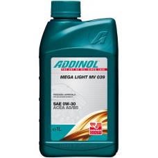 Моторное масло Addinol Mega Light MV 039 0W-30 1л