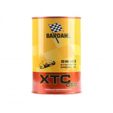BARDAHL XTC C60 5W40 A3/B4 SN/CF Масло моторное 100% синт (1L)