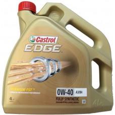 Моторное масло Castrol EDGE A3/B4 TITANIUM FST 0W-40 4л