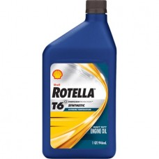 Моторное масло Chrysler Shell Rotella T6 Synthetic 5W-40 0.946л