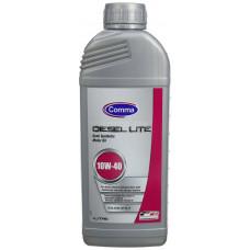 Моторное полусинтетическое масло Comma Diesel Lite 10W-40