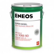 Моторное полусинтетическое масло Eneos DIESEL CG-4 10W-40