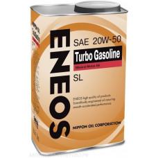 Минеральное масло Eneos TURBO GASOLINE SL 20W-50 0.94л