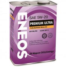 Моторное масло Eneos Premium Ultra SN 5W-20 4л