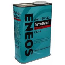 Минеральное масло Eneos TURBO DIESEL CG-4 15W-40 0.946л