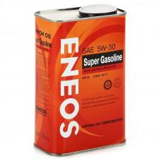 Моторное полусинтетическое масло Eneos SUPER GASOLINE SL 5W-30