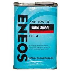 Минеральное масло Eneos TURBO DIESEL CG-4 10W-30 0.94л
