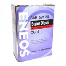 ENEOS DIESEL 5W30 CG-4 Масло моторное полусинт. (Корея) (4L)