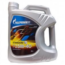 Минеральное масло Gazpromneft STANDARD 15W-40 4л