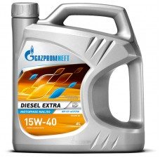 Минеральное масло Gazpromneft DIESEL EXTRA 15W-40 4л