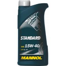 Минеральное масло Mannol STANDARD 15W-40 1л