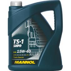 Минеральное масло Mannol TS-1 SHPD 15W-40 5л