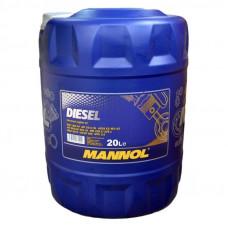 Минеральное масло Mannol DIESEL 15W-40 20л