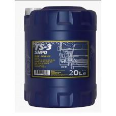 Минеральное масло Mannol TS-3 SHPD 10W-40 20л