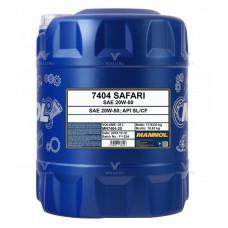 Минеральное масло Mannol SAFARI 20W-50 20л