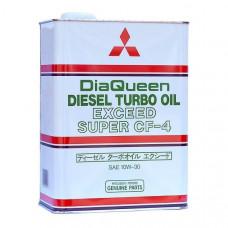 Моторное минеральное масло Mitsubishi DiaQueen Diesel Super CF 10W-30