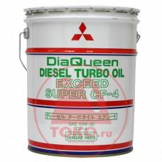 Минеральное масло Mitsubishi DiaQueen Diesel Super CF 10W-30 20л