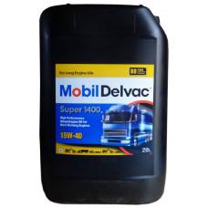Минеральное масло Mobil Delvac Super 1400E 15W-40 20л