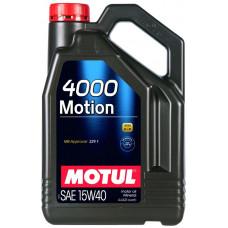 Минеральное масло Motul 4000 MOTION 15W-40 4л