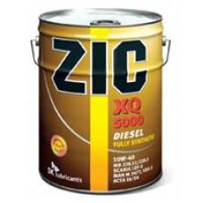Моторное масло ZIC XQ 5000 10W-40 20л