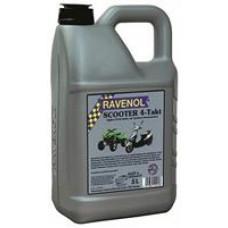 Моторное полусинтетическое масло Ravenol Scooter 4-Takt