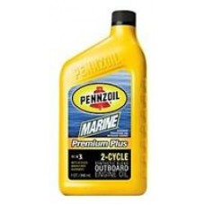 Трансмиссионное масло Pennzoil Marine Premium Plus Outboard 2-Cycle