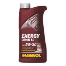 Моторное синтетическое масло Mannol Energy Combi LL 5W-30
