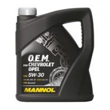 Моторное масло Mannol 7701 O.E.M. for Chevrolet Opel 5W-30 4л