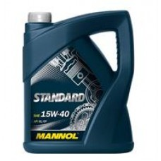 Минеральное масло Mannol STANDARD 15W-40 5л