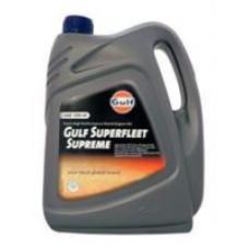 Минеральное масло Gulf Superfleet Supreme 15W-40 4л