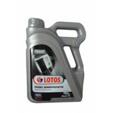 Моторное масло Lotos DIESEL SEMISYNTHETIC CF 10W-40 4л