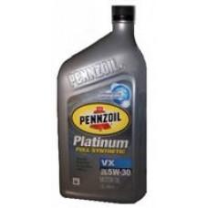 Моторное масло Pennzoil Platinum VX 5W-30 0.946л