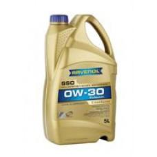 Моторное масло Ravenol SSO 0W-30 5л