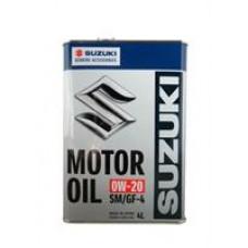 Моторное масло Suzuki SM/GF-4 0W-20 4л