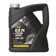 Моторное масло Mannol 7709 O.E.M. for Toyota Lexus 5W-30 4л