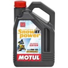 Моторное синтетическое масло Motul Snowpower 4T 0W-40