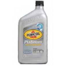 Моторное масло Pennzoil Platinum European Formula 5W-40 0.946л