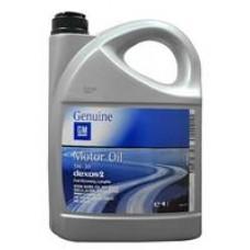 Моторное масло General Motors Dexos 2 5W-30 4л