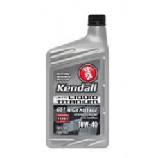 Моторное масло Kendall GT-1 High Mileage Synthetic Blend With Liquid Titanium 10W-40 0.946л