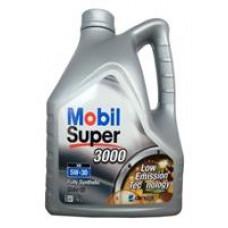 MOBIL SUPER 3000 XE 5W-30 A3, SL/CF Масло моторное синт. 4л