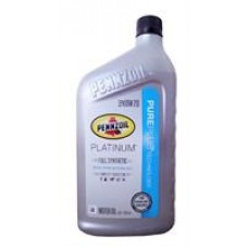 Моторное масло Pennzoil Platinum Full Synthetic Motor Oil (Pure Plus Technology) 0W-20 0.946л