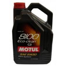 MOTUL 8100 ECO-CLEAN 5W30 C2 Масло моторное синт. 5л