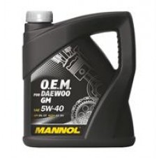 Моторное масло Mannol 7711 O.E.M. for Daewoo GM 5W-40 4л