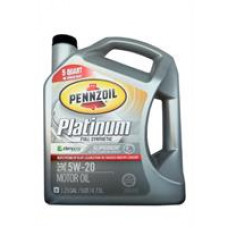 Моторное масло Pennzoil Platinum Full Synthetic Motor Oil 5W-20 4.73л
