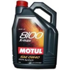 MOTUL 8100 X-MAX 0W40 A3 Масло моторное синт. 5л
