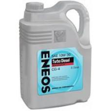 Минеральное масло Eneos TURBO DIESEL CG-4 10W-30 6л