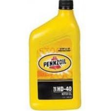 Моторное масло Pennzoil HD Motor Oil 40 0.946л