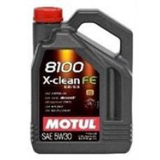 Моторное масло Motul 8100 X-Clean FE 5W-30 4л