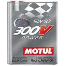 MOTUL 300V POWER 5W40 4T Масло моторное синт. 2л