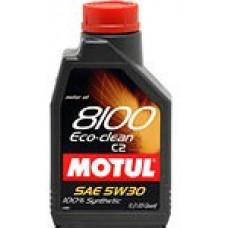 Моторное синтетическое масло Motul 8100 Eco-clean 5W-30